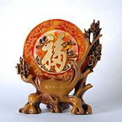 鹿雕塑-铁丝编织鹿雕塑定做