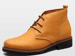 2015新款女单鞋 浅口平底坡跟高跟鞋厚底真皮休闲女鞋