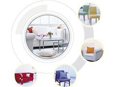 多色经典镂空网格PP塑料椅塑胶椅休闲椅J