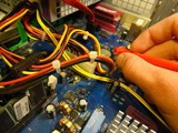微星笔记本进水维修北京微星MSI笔记本主板维修完美解决电脑蓝