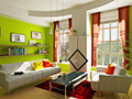 绿影花家装安全漆抗甲醛净化空气全效优质墙面漆