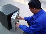 110开换锁装指纹锁锁芯升级配门禁卡电动门遥控器