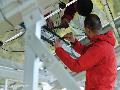 永和祥彩铁棚搭建公司 永和专业承接搭建钢结构厂房