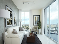 室外电动百叶窗上海卢立智能百叶窗高当不秀钢夹具玻璃百叶窗